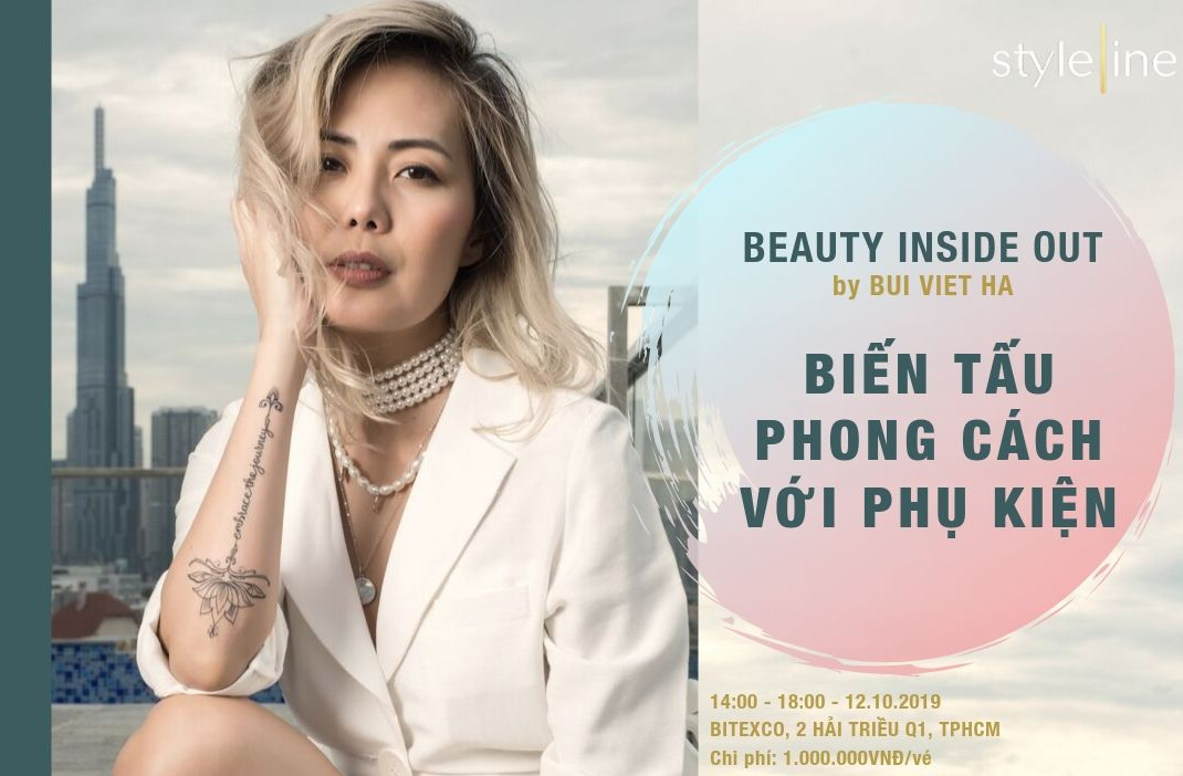 BEAUTY INSIDE OUT by BÙI VIỆT HÀ – 12.10.2019