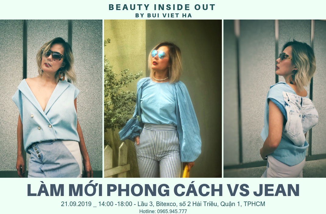 BEAUTY INSIDE OUT by BÙI VIỆT HÀ – 21.09.2019